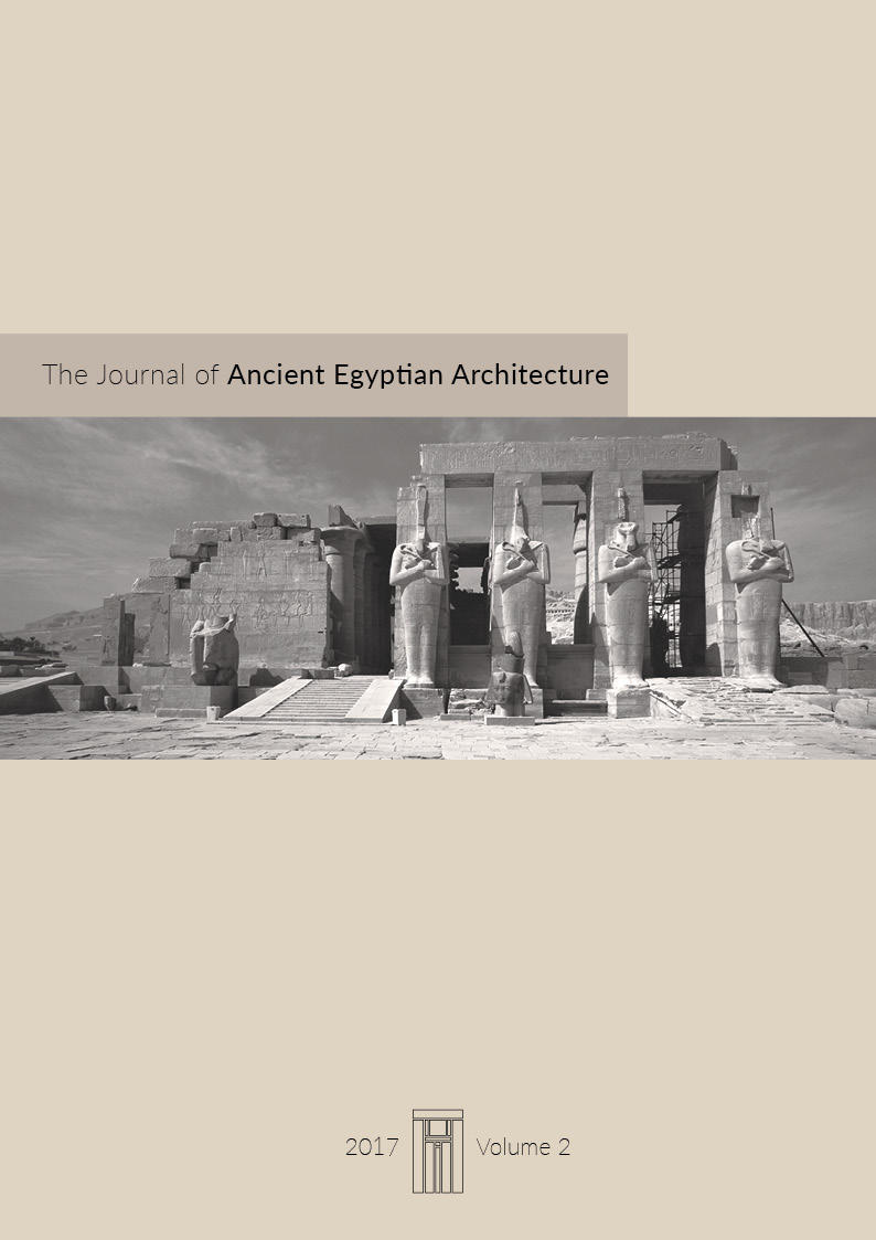the journal of ancient egyptian architecture